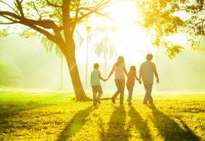 famiglia parco