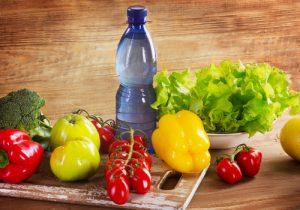 frutta verdura acqua
