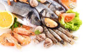 pesce crostacei