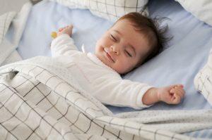 bimbo sonno