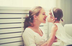 mamma e bambina