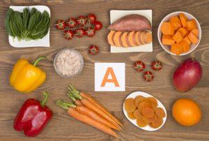 vitamina A ortaggi